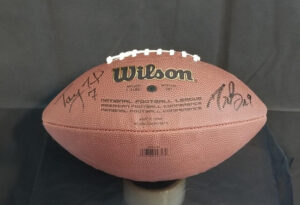 Full Size Replica Helmet - Signed by Drew Brees & Taysom Hill