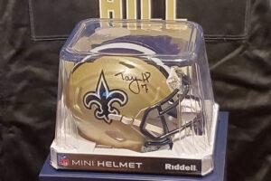 Mini Helmet Signed by Taysom Hill
